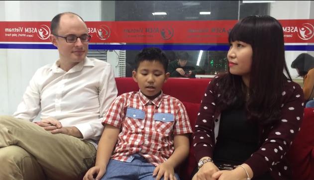Học sinh lớp Năng Khiếu ASEM Vietnam - Evan