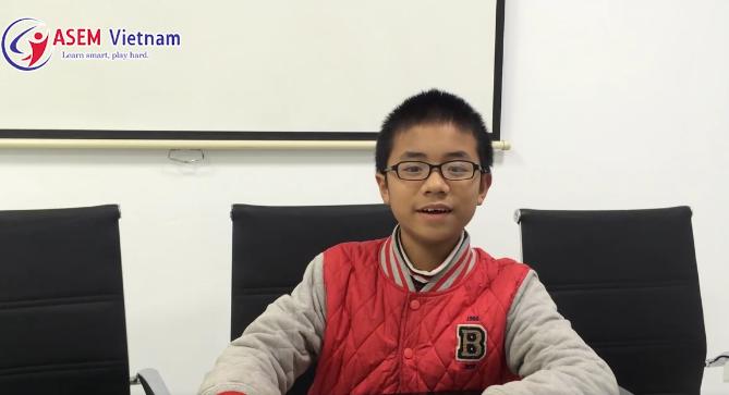 Học sinh lớp Năng Khiếu ASEM Vietnam - Putin