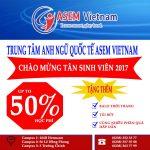 ASEM VIETNAM-TƯNG BỪNG CÁC HOẠT ĐỘNG CHÀO ĐÓN TÂN SINH VIÊN
